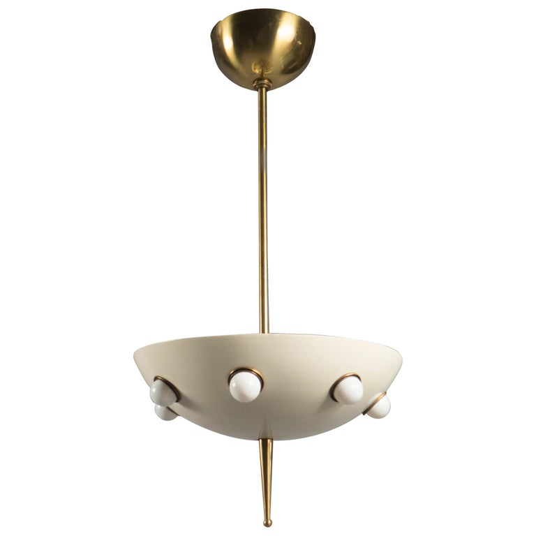Pair of Light Fixtures by Oscar Torlasco, Italy, 1960s  For Sale