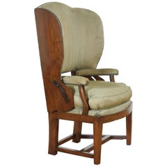 Early 19th Century Dutch Metamorphic Wingchair
