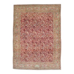 Antique Persian Mashad Carpet