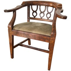Inlaid Desk Chair, French, 19th Century