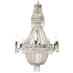 French Crystal Chandelier, 18th Century