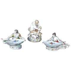 Collection of Three Meissen Figures