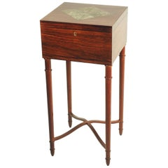 Leon Jallot Lift-Top Side Table