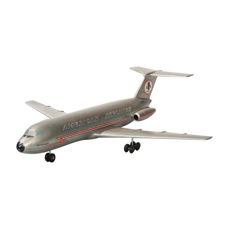 Vintage American Airlines Astrojet Aviation Model For Sale