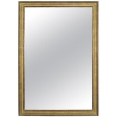 Italian 1960s Transitional Gold Framed Mirror