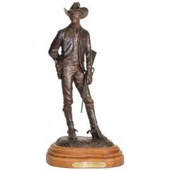 "Bill Nebeker Bronze ""The Ranger"""