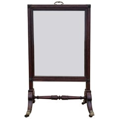 Unusual Tripple Width Fire Screen