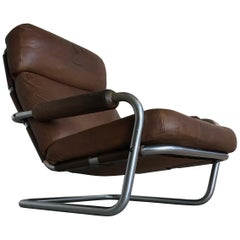'Mister Oberman' Lounge Chair by Jan des Bouvrie for Gelderland, 1970s