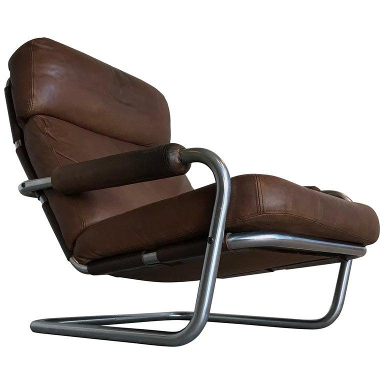'Mister Oberman' Lounge Chair by Jan des Bouvrie for Gelderland, 1970s
