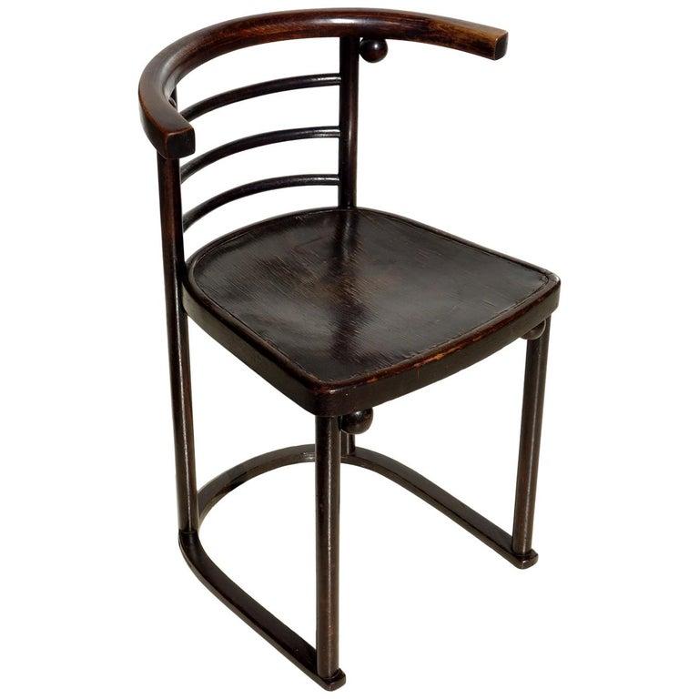 Cabaret Fledermaus Chair by Josef Hoffmann Gustav Siegel 1900 Chair