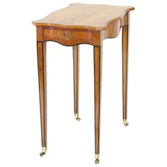 George III Satinwood Side Table, circa 1790