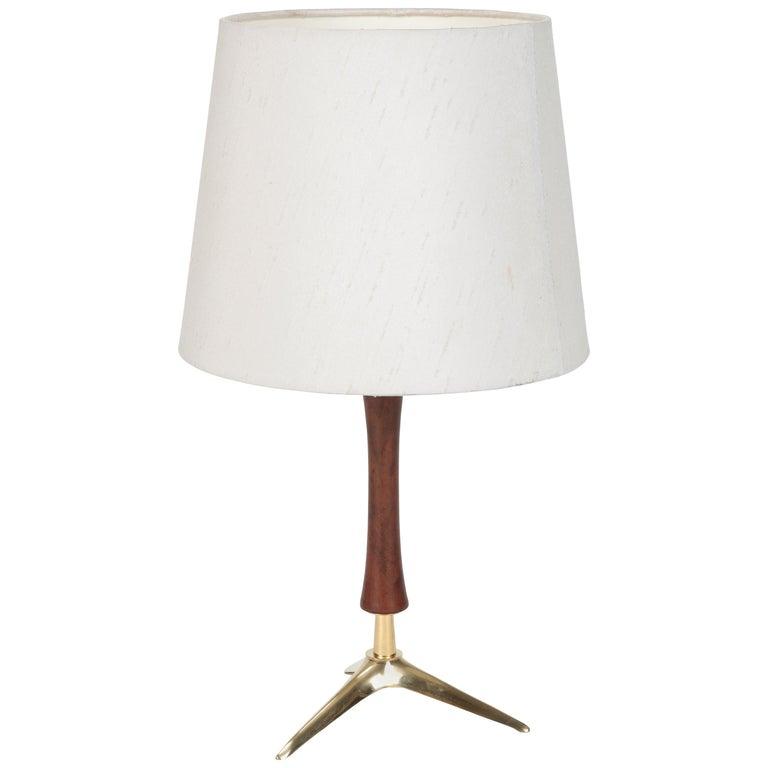 Attr. J.T. Kalmar Table Lamp Kalmar Lightning, 1950s