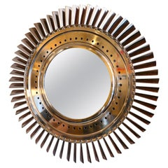 Aerospace JT8D Pratt & Whitney Hand Polished Mirror