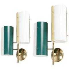 Italian Wall Lights Stilnovo, 1950s