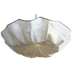 Tobia Scarpa for Flos Italian Modernist 'Celestia' Ceiling Pendant Light