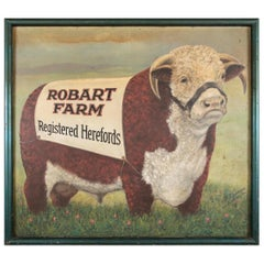 """Robart Farm Registered Herefords"" a Monumental Cattle Farm Trad"