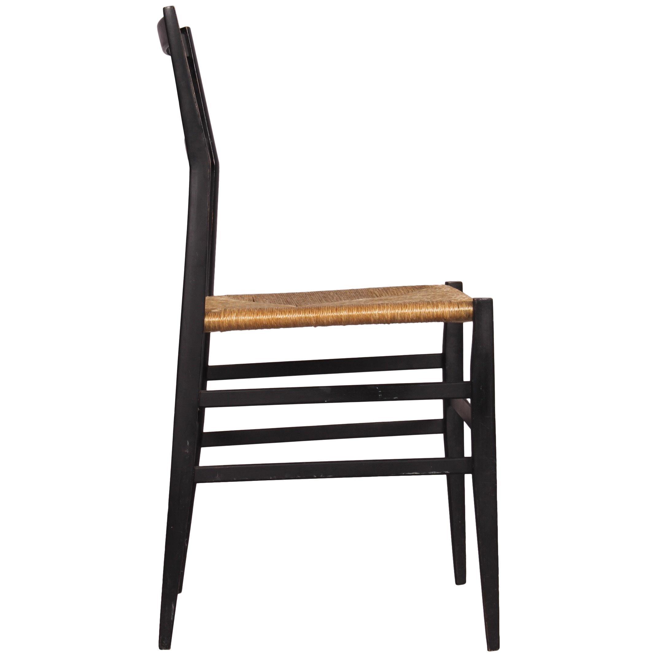 Beau Superleggera Chair By Gio Ponti