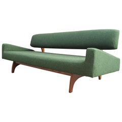 Walnut Sofa, Model 829-S, by Adrian Pearsall for Craft Associates