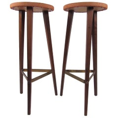 Pair of Vintage Italian Bar Stools