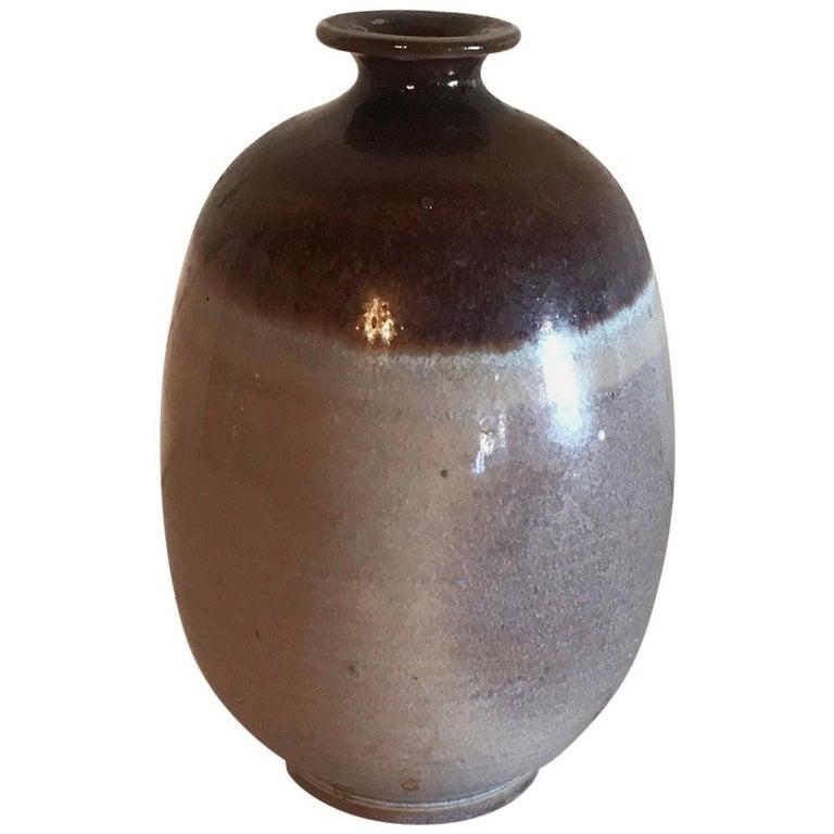 Midcentury Weed Pot Ceramic Vintage Pottery Studio Art