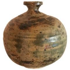 Midcentury Vintage Weed Pot Ceramic Studio Pottery Art