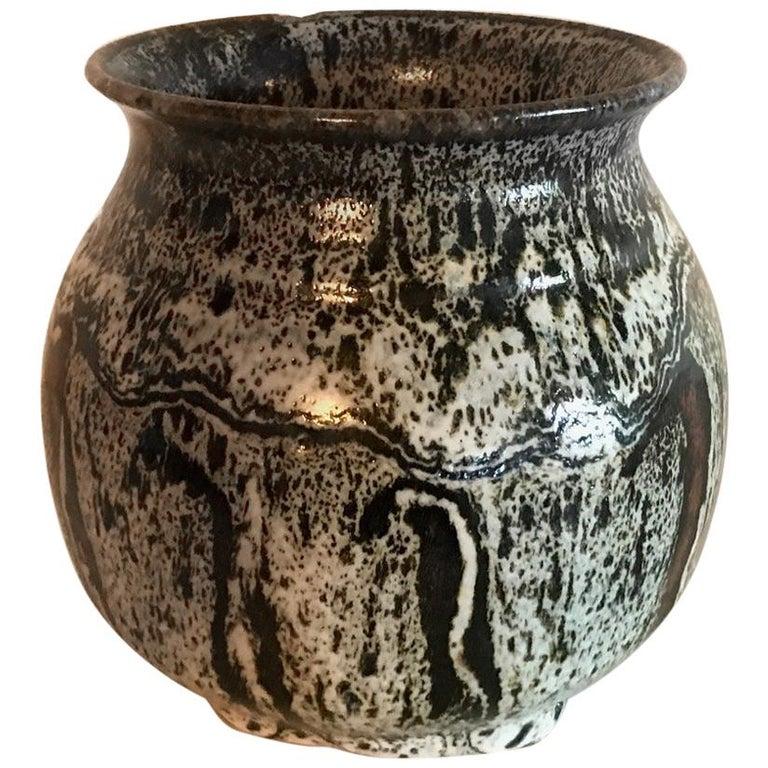 MidCentury Vintage Ceramic Pot Studio Pottery