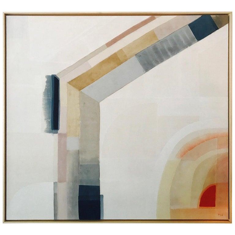 Mid-Century Modern Abstract Art by Utah Artist Meggan Waltman