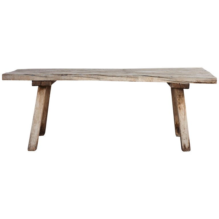 French Rustic Hall Console