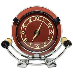 1930s Art Deco Modernist Smiths Clock