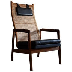 Midcentury Lounge Chair by P.Muntendam