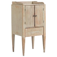 18th Century Swedish Gustavian Nightstand