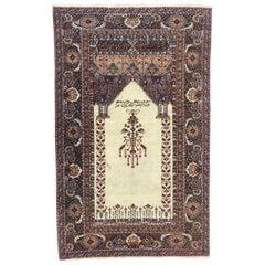 Fine Vintage Turkish Prayer Rug