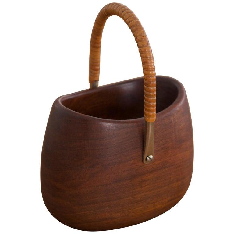 Wooden Basket by Carl Auböck