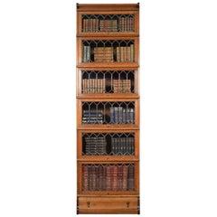 Oak Globe Wernicke Six Section Bookcase