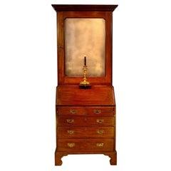 George II Period Mahogany Bureau Bookcase