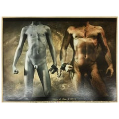 JAN SAUDEK, 'Chains of Love # 365/5'   Original silver gelatin print