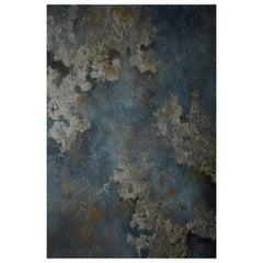 Midnight Moon Dust, Handmade Wallpaper