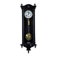 Wall Clock in a Wooden Case, circa 1880