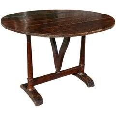 French Provincial Walnut Drinks Table