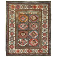 Antique Caucasian Kazak Area Rug