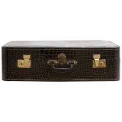 Spanish Leather Suitcase