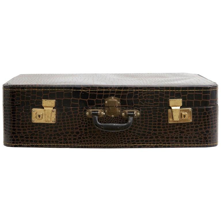 Spanish Leather Suitcase