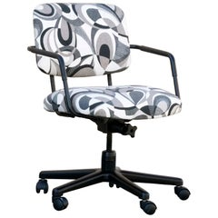 Retro Steel Office Chair