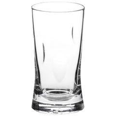 Martino Gamper Handmade Irish Crystal Water Glass 'Cuttings' Series