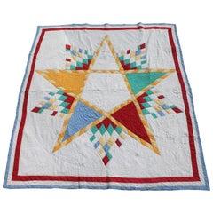 Antique Quilt, Northeastern Star Quilt