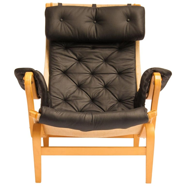 Pernille Lounge chair by Bruno Mathsson