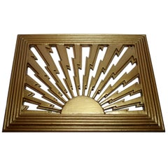 1930s Art Deco Air Vent