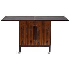 Vintage Modern Rosewood Bar Cabinet by Torbjøron Afdal for Bruksbo of Norway