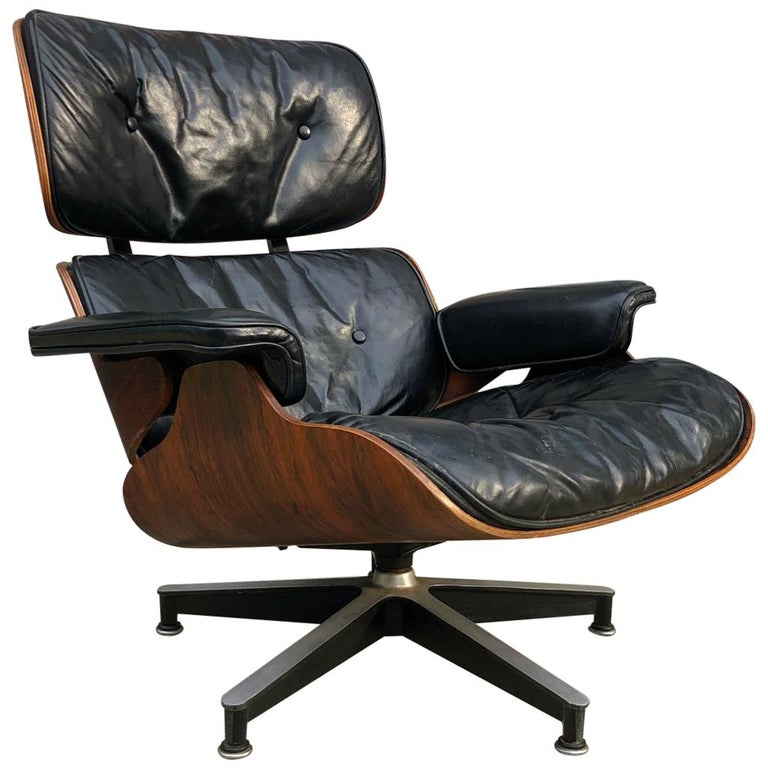 Early 1960s Herman Miller Eames Lounge Chair