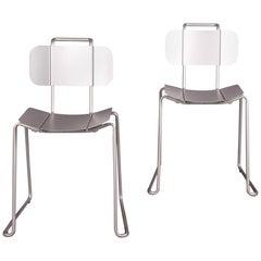 4 Aluminium Chairs